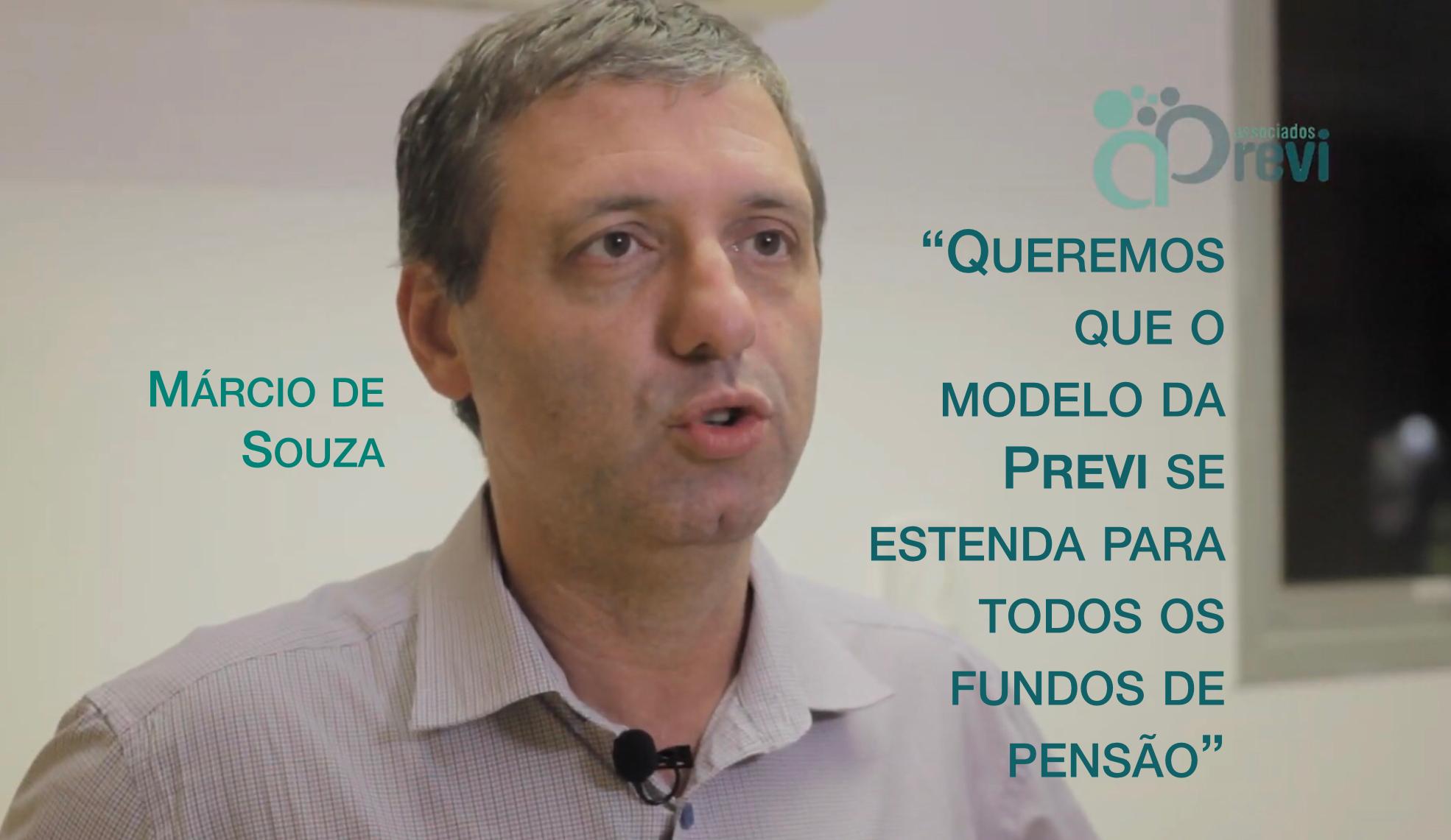 Márcio de Souza comenta a governança da Previ